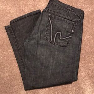 """CoH Cropped """"Kelly"""" stretch wimbledon #254 Jeans"""